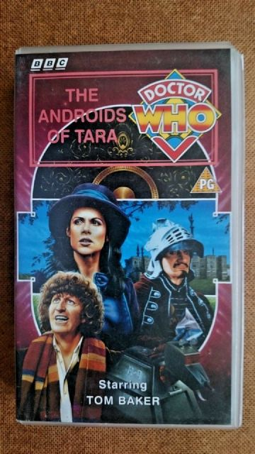 Doctor Who The Androids of Tara (VHS) - Tom Baker